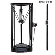 ANYCUBIC Envío Libre Delta Kossel MGN12H Carril Linear Slide 3D impresora 300/400/450mm Guía Lineal para X Y Z ejes