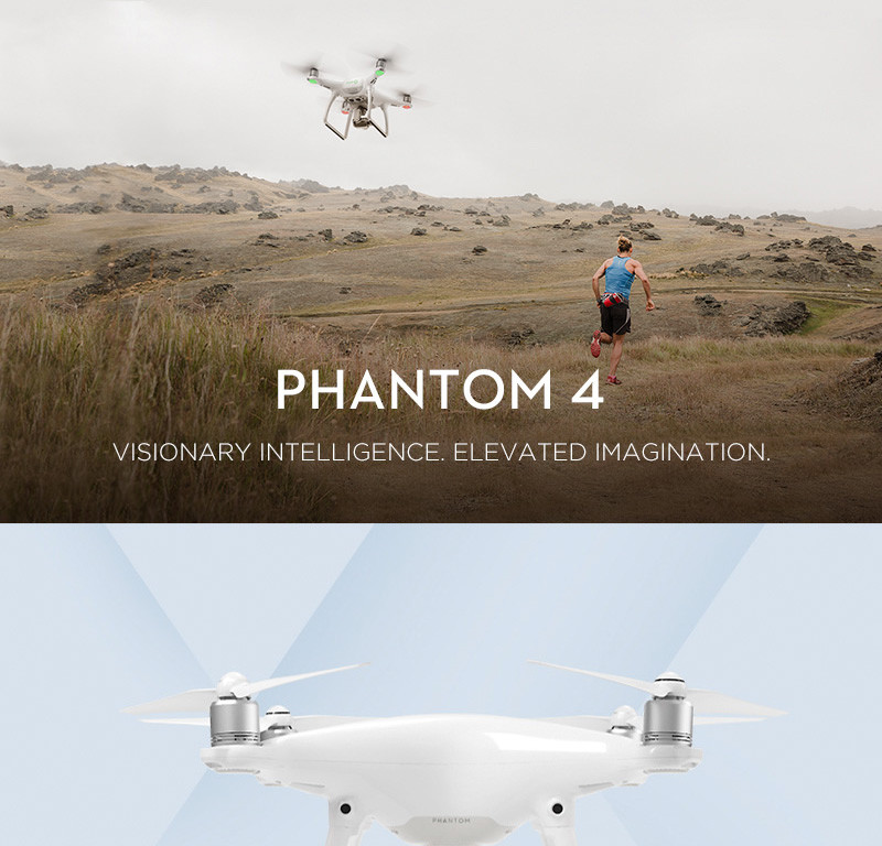 DJI Phantom 4 Quadcopter Drones with Camera HD 4K Camera and 3-Axis Gimbal for Drones Photographer PK DJII Phantom 3