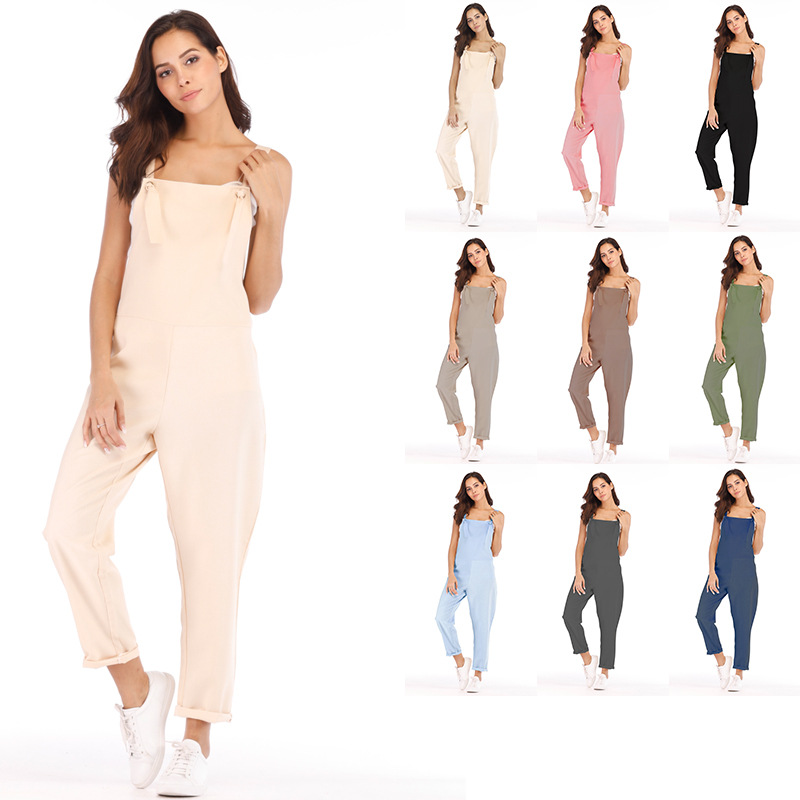 Loose Maternity Pants Pregnant Trousers Strap Belt Bib Suspenders for Pregnancy Women Overalls Jumpsuit Clothing Plus Size