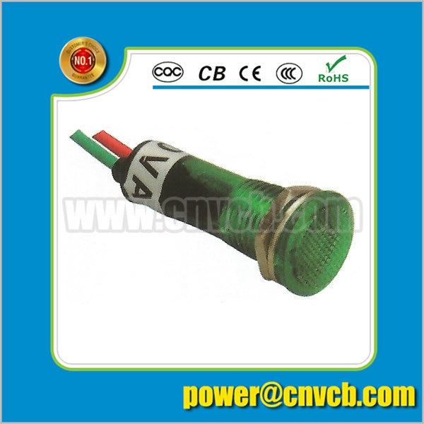 ZS78 green 12v pilot light lamps bringting light terminal bat signal lamp light switch with indicator