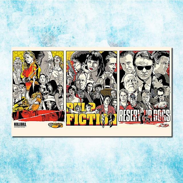 Pulp Fiction Vintage Movie Art Silk Canvas Poster Print 13x20 20x36