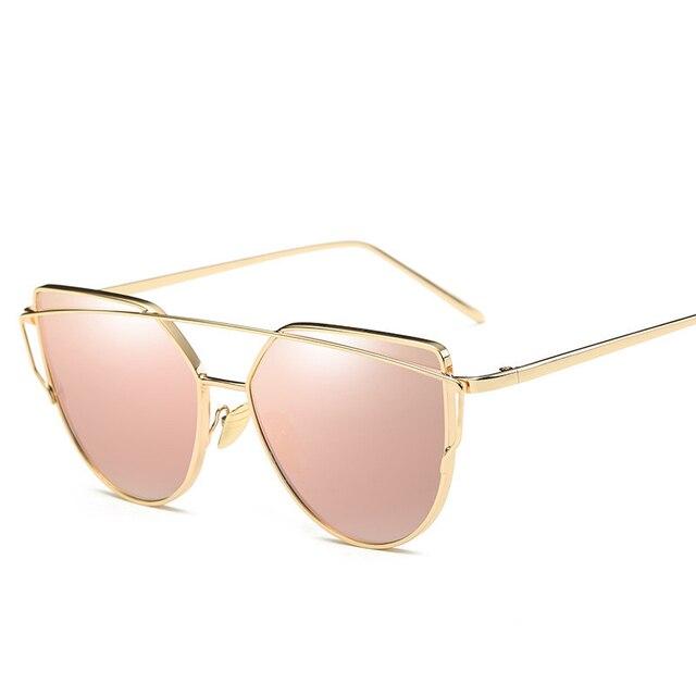 Moda occhiali da sole di marca per le donne occhiali cat eye occhiali da sole maschili specchio occhiali da sole uomo occhiali donna vintage occhiali d'oro