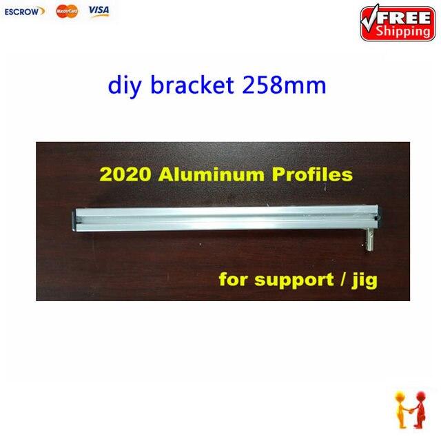 2020 Perfiles de Aluminio de 258mm de bricolaje impresora 3d marco ...