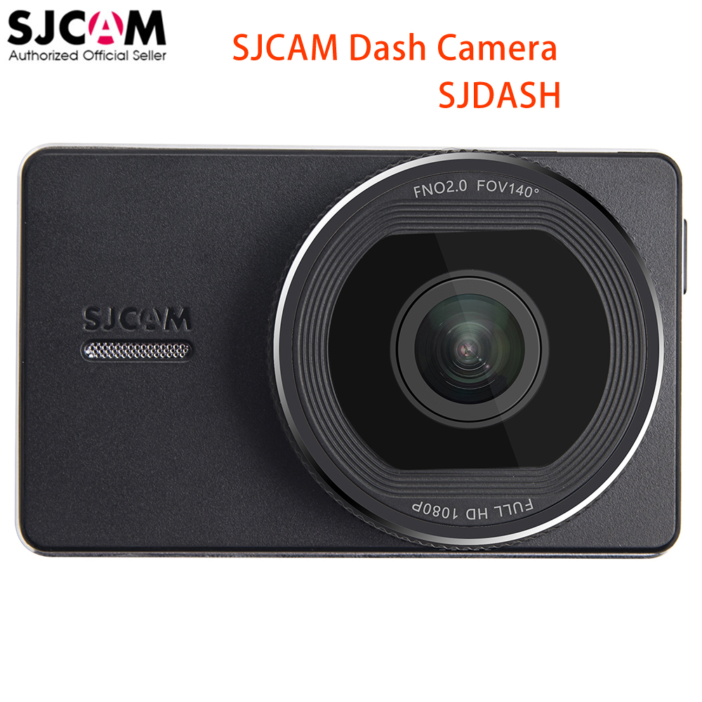 Original SJCAM SJDASH Car Smart Dash Camera Wireless WiFi 3.0' LCD Full HD 1080P 30fps 140 Degree Touch Button Car Mini DVR Cam