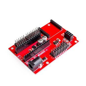 ナノ 328 p IO ワイヤレスの XBEE センサ拡張ボードと NRF24L01 ソケット arduin 用