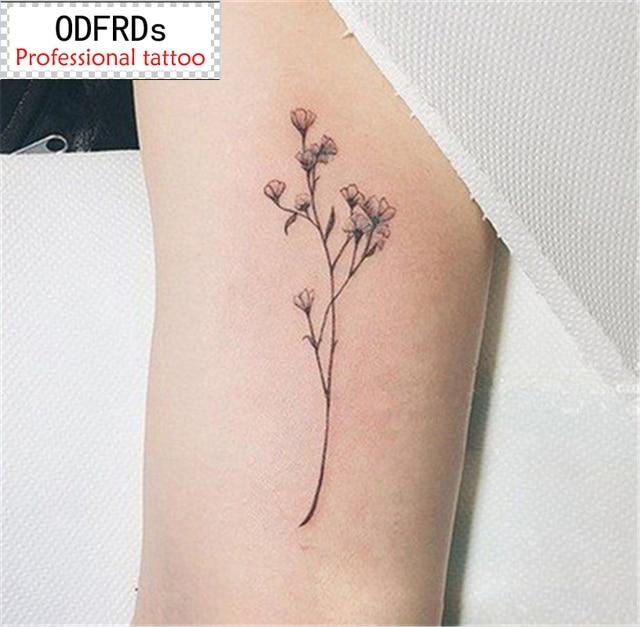 2017 НОВЫХ 300 Моделей водонепроницаемый временные татуировки татуировки хной поддельные флэш татуировки наклейки Taty tatto Свежей травы