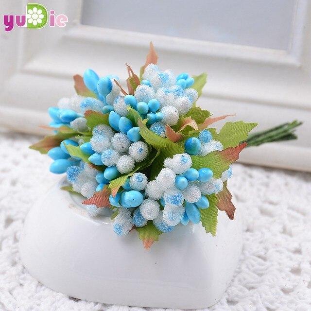 Online Shop 100pcs / lot multicolor flower bud collage decorative ...