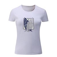 IDzn Brand Attack On Titan Cosplay T Shirt Women Summer T Shirt For Girl CAMERON DALLAS