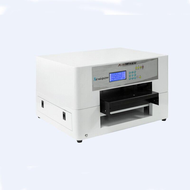 Высокое качество A3 формат eco-solvent планшетный принтер струйный печатная машина печати на сотовый телефон чехол