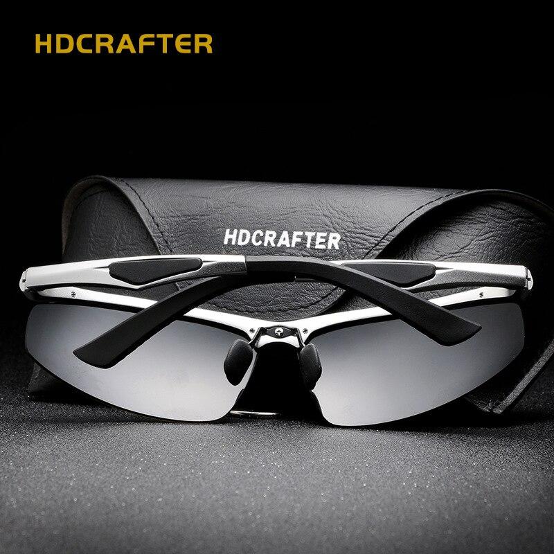 HDCRAFTER Herr Sport Polariserade Solglasögon Män Utomhus - Kläder tillbehör - Foto 4