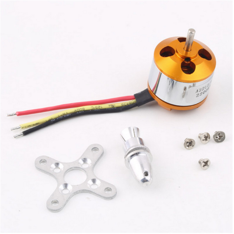 A2212 KV93 Brushless Motor For RC Multirotor Aircraft Model Airplane Hobby Dropshipping Free Shipping A3  цены