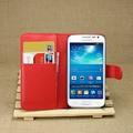 2016 carpeta de la pu cuero de la vendimia flip book case para samsung galaxy express 2 g3815 cubierta del teléfono con el titular de la tarjeta de coque