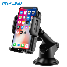Mpow 4-6 inch Adjustable Dashboard Cellphone Car Mount Universal Phone Holder Stand with Strong Sticky Pad For iPhone XS/X/8