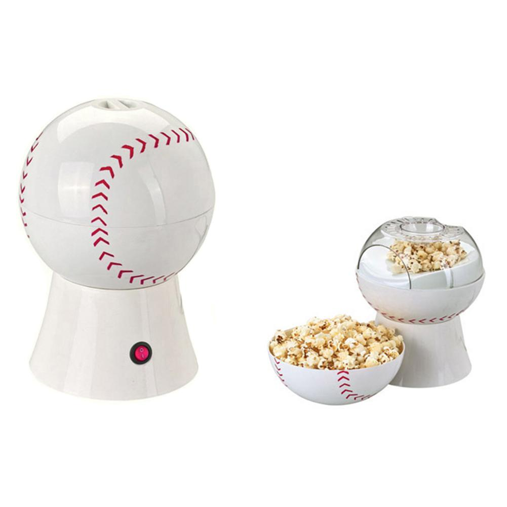 Adoolla 220V Household Baseball-shape Electric Heat Popcorn Maker Popcorn Machine European Specification-25 pop 08 commercial electric popcorn machine popcorn maker for coffee shop popcorn making machine