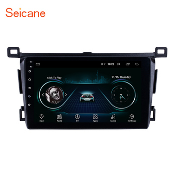 Seicane 2din Android 9.1 9 Car GPS Head Unit Player For Toyota RAV4 Right hand driving 2013 2014 2015 2016 2017 2018 with Wifi image