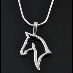 Mode mignon animal cheval pendentif collier pour les femmes mode robe vêtements bijoux fantaisie accessoires