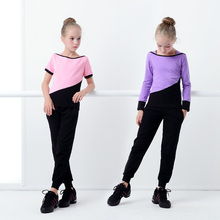 Crewneck Tops&Carrot Pants Two Piece Sport Outfits Teenage Girls Fashion Tracksuit Suit Clothing Casual Jogging