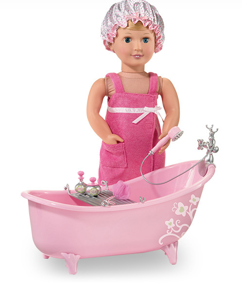 Low Price Doll Bath Towel Clothes Wear For 18 American Girl Doll