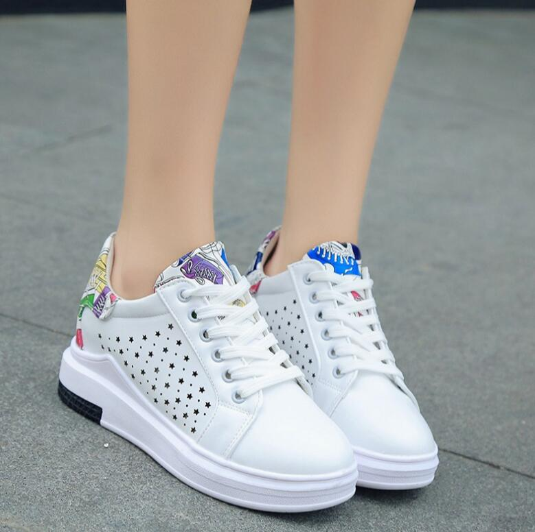 Chaussures à bout rond blanches Casual VOhFvRiL