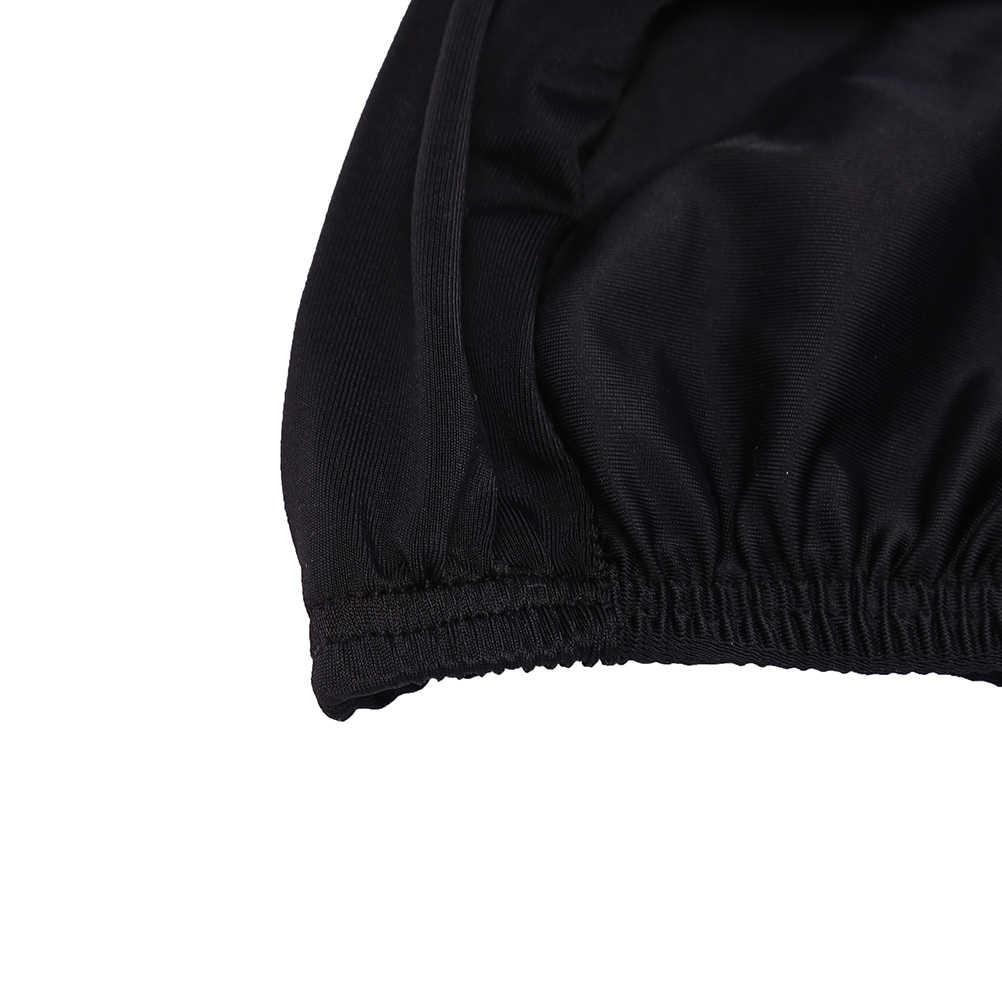 Cuffia Cuffia per La Doccia Cap Adatto Robusto Balneazione Tappi Nuoto Tappi Per Le Donne Degli Uomini Tessuto Proteggere Le Orecchie Capelli Lunghi di Colore Puro