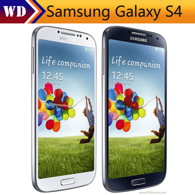 Original Samsung Galaxy S4 i9505 i9500 Unlocked Mobile phone 4G Android Quad Core 5.0 '' 2GB RAM 16GB ROM Refurbished