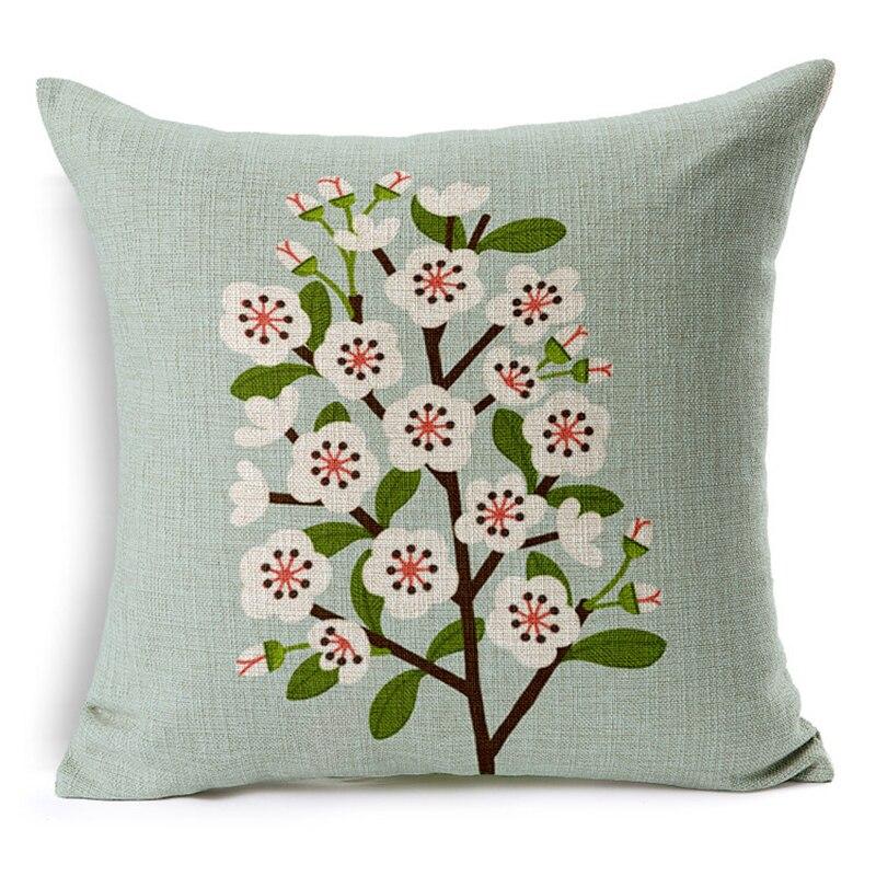 Aliexpress Com Buy Actionclub Cushions Diy Home Decor Pillowcase Floral Style Sofa Cushions Sets Car Decor Pillows 45 45cm Decoration Cushion From