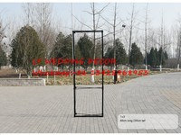 80cm*230cm Aluminum flower Wall stand frame for Tradeshow Straight Tension Banner Exhibition Display Stand Trade Show Wall