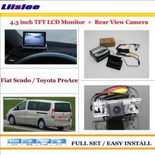 Liislee For Fiat Scudo For Toyota ProAce Car Reverse Backup Rear font b Camera b font
