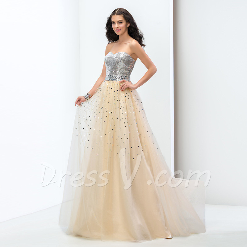 Puffy Prom Dress 2015