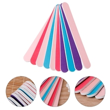 Professional Nail Art Double Sided Beauty Manicure File Sanding Polisher Tool  file