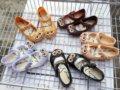 13-15.5 cm de Dibujos Animados búho gato sandalias de las niñas zapatos de lluvia jalea elástica Niño barato verano zapato