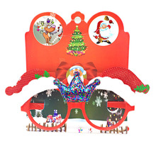 MIARA.L new individuality creative cartoon Christmas decoration glass frame many children gift for