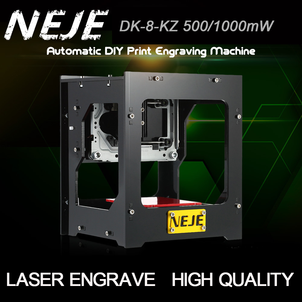 NEJE 1000mW cnc crouter cnc laser cutter mini cnc engraving machine DIY Print laser engraver High Speed with Protective Glasses laser diy mini laser engraving machine neje laser engraver machine laser engraving module advanced toys best gift