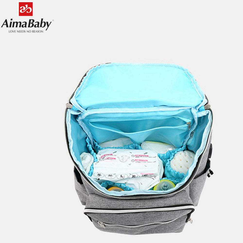 troller bag backpack baby diaper bags nappy mother maternity mommy wet infant for baby care organizer bag in Diaper Bags from Mother Kids