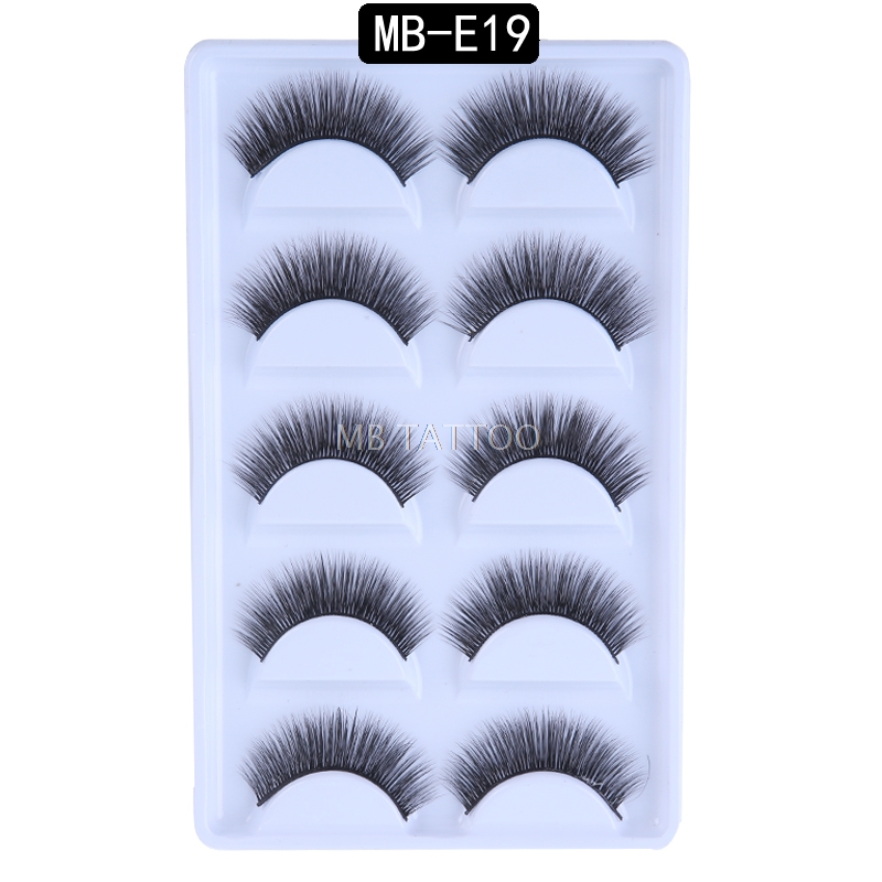 HTB1FxVdRhnaK1RjSZFBq6AW7VXa5 New 3D 5 Pairs Mink Eyelashes extension make up natural Long false eyelashes fake eye Lashes mink Makeup wholesale Lashes