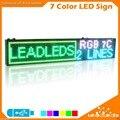 Крытый RGB SMD3528 полноцветный Светодиодный Знак USB флэш-диск Программируемый Прокрутка Доска Объявлений для Вашего Бизнеса