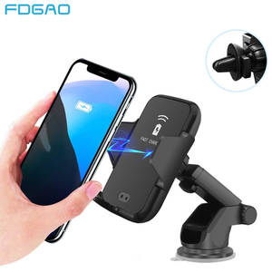 Fdgao Charger-Holder iPhone 11 Note Samsung S10 Wireless 10W for XR XS 8x10w/fast-Mount