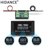 Dc 150 v/20a 3kw digital voltímetro amperímetro fonte de alimentação medidores tensão detector wattmeter volt atual capacidade testador indicador