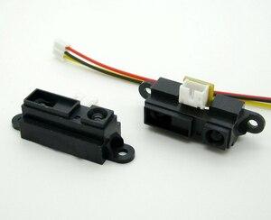 Бесплатная доставка 30 шт Новый GP2Y0A21YK0F 2Y0A21 ик аналоговый датчик расстояния 10-80 см Бесплатный кабель совместимый с Arduino