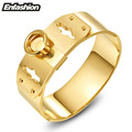 Enfashion Jewelry Circle Ring Wide Cuff Bracelet Noeud armband Gold Plated Bangle Bracelet For Women Bracelets Manchette Bangles
