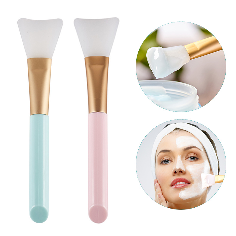 2Pcs <font><b>Professional</b></font> Makeup Silicone Brush Facial Mask Mud Mixing Face <font><b>Skin</b></font> <font><b>Care</b></font> Beauty <font><b>Tools</b></font> Women Mask Cosmetic Brush SK88 image