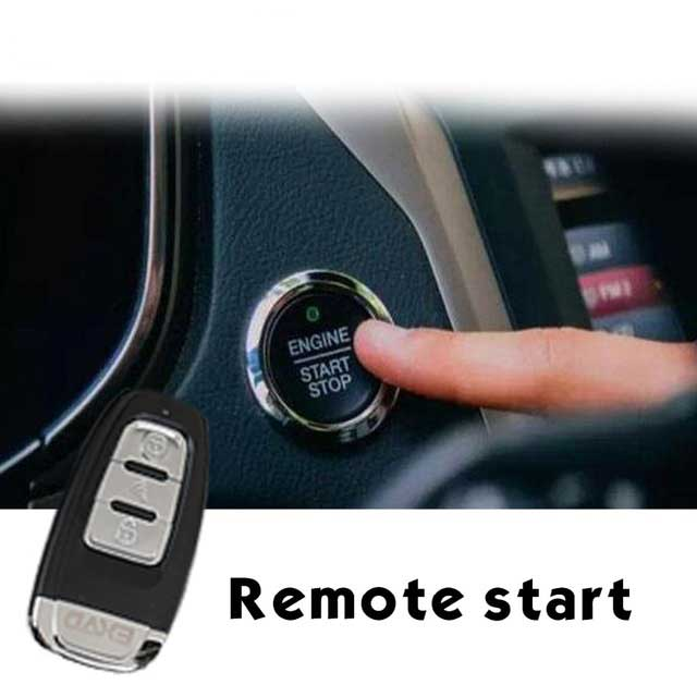 Remote Engine Start For Jeep Grand Cherokee Smartphone APP Keyless Entry Car Alarm System Central Locking PKE Start Stop