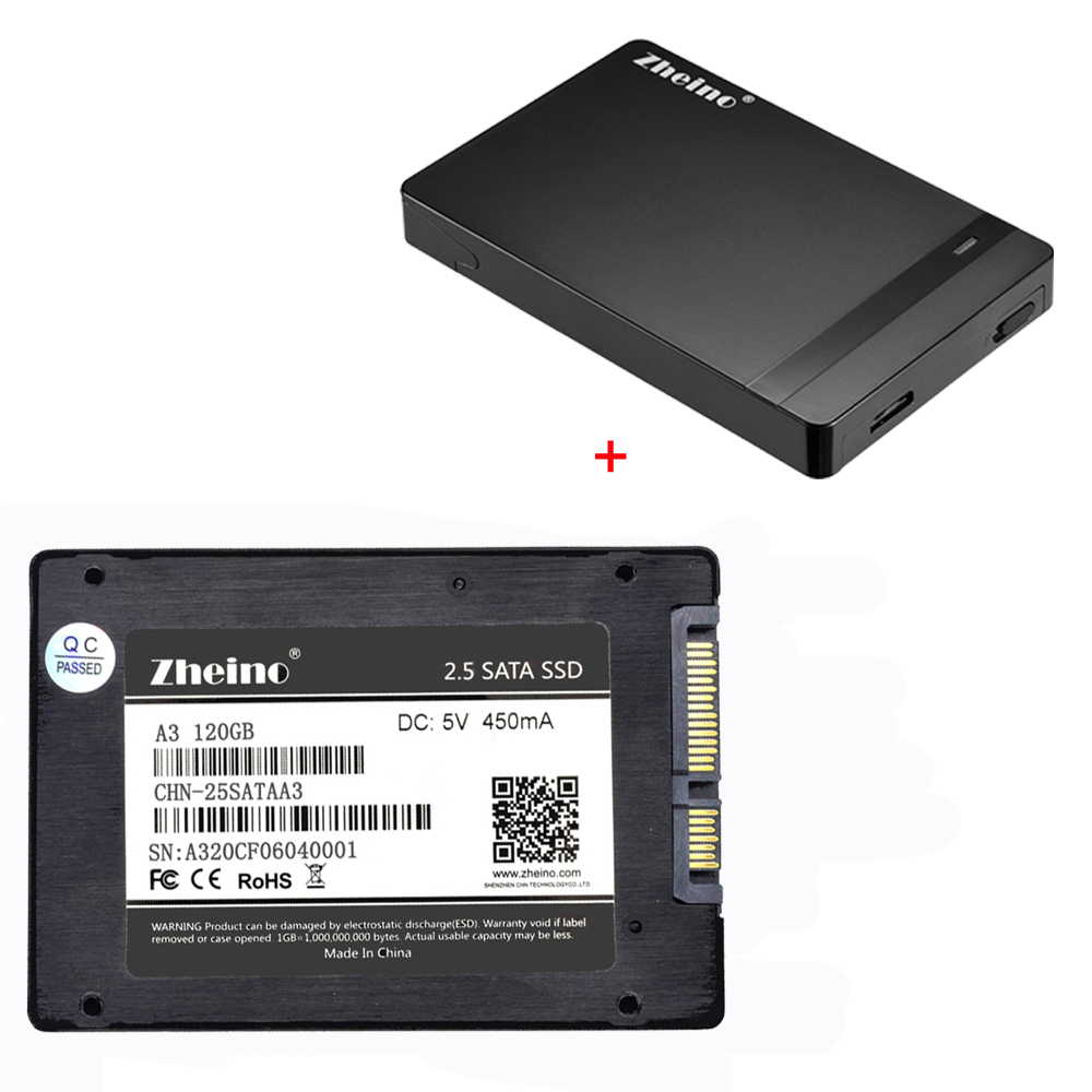 Zheino P1 2.5 SATA3 SSD 120 gb 240 gb 360 gb 480 gb 128 gb 256 gb 512 gb Solide disque avec 2.5 Externe HDD Disque