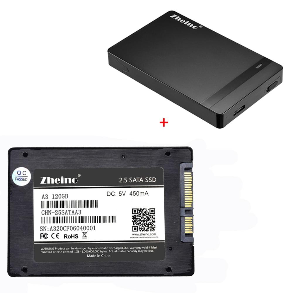 Zheino P1 2,5 SATA3 SSD 120 GB 240 GB 360 GB 480 GB 128 GB 256GB 512 GB de estado sólido conducir con 2,5 disco duro externo disco