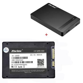 Zheino P1 2.5 SATA3 SSD 120GB 240GB 360GB 480GB 128GB 256GB 512GB Solid State Drive with 2.5 HDD External Drive Disk