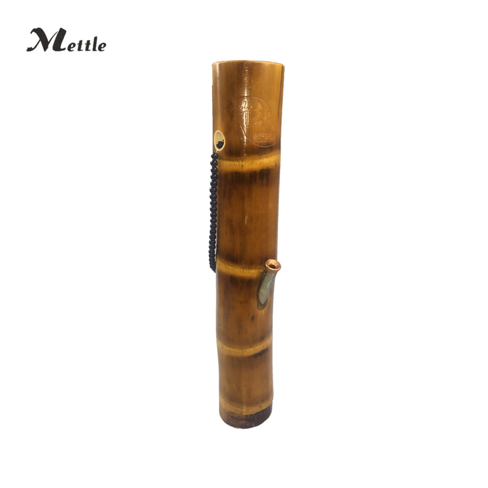 Mettle Bamboo Large Water Pipe Shisha Somke Pipe Smoking Hookah Pipe New style simply operation Green Black Red Durable Tube ...