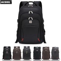 Jacodel Laptop Backpack 17 18 Casual Notebook Backpack Travel Bag Computer PC Bag For Asus HP