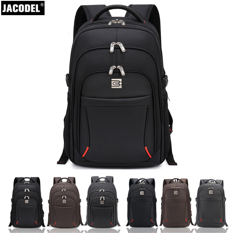 Jacodel Laptop Backpack 17 18 Casual Notebook Backpack Travel Bag Computer PC Bag for Asus HP Acer Laptop 14 15 15.6 Inch Bags hot designs laptop pc bag backpack school book backpack travel bag for 14 15 5 15 6 laptop