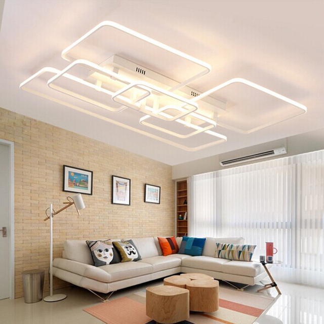 acheter led plafond luminaire led carr lustre lumi re grand encastr led. Black Bedroom Furniture Sets. Home Design Ideas