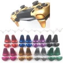 Resortes de reparación del controlador para Sony Playstation 4 PS4 PS 4, extensor de Metal y aluminio L1 R1 L2 R2, botones de disparo extendidos